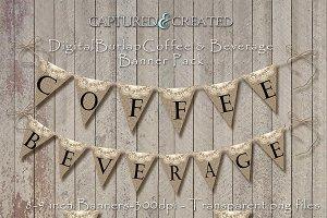 Burlap Wedding Coffee & Beverage Ban
