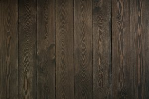 dark wood plank wall