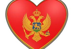 Montenegro heart