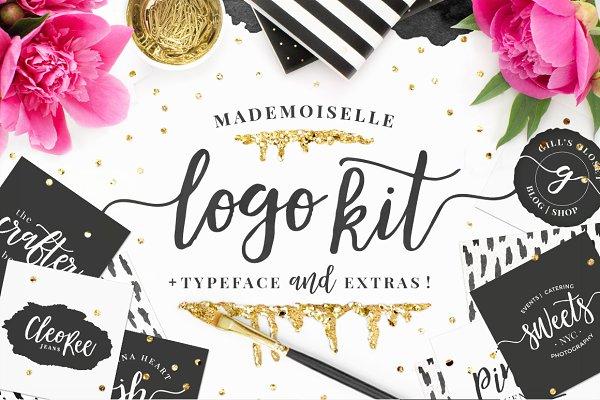Mademoiselle LOGO KIT + Extras!