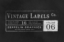 Vintage Labels & Logos Vol.6