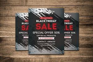 Black Friday Sale Flyer-V438