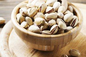 Salth pistachios