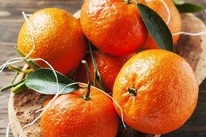 Sweet italian mandarins