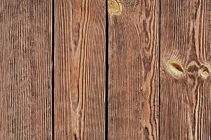 Knotted Wooden Planks