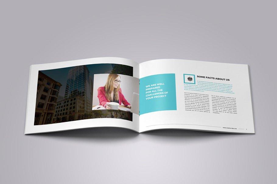 Portfolio Booklet Brochure Templates Creative Market Pro