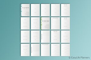 Five Year Planner A4 Size
