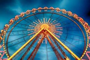 Dramatic Ferris Wheel