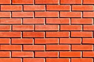 Decorative Red Brickwall