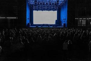 Night show performance.