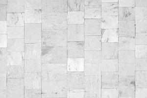 white marble tiled