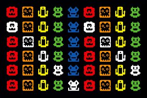 Space Invaders Dingbat