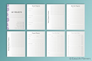 Project Planner A4 Size