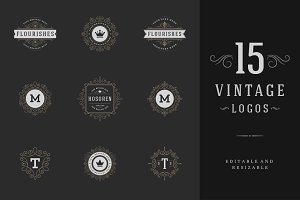 15 ornaments logos & monograms