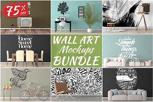 Wall Art Mockups BUNDLE V1