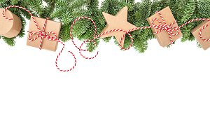 Christmas decoration banner long
