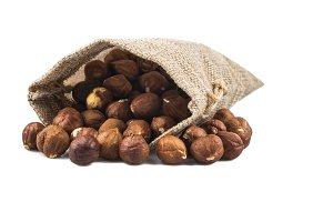 nut in sack