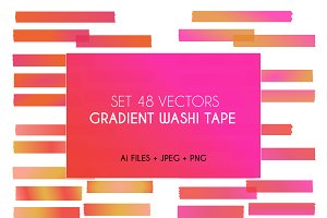 Gradient Washi Tape