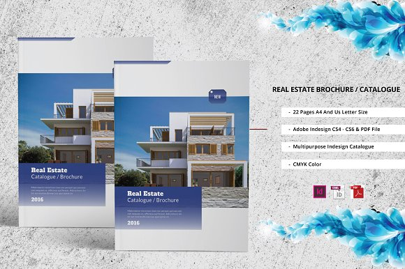 real estate prospectus template - real estate catalogue brochure brochure templates