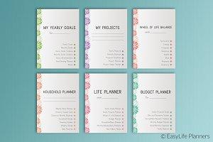 Life Planner Printable A4
