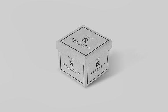 Paper Box Mock-up#1