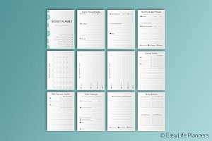 Financial Planner A5 Printable