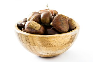 Chestnuts in a bowl