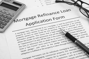 Mortgage loan form