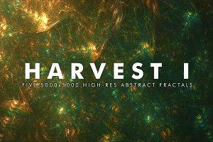 Harvest I - Fractal Background Art