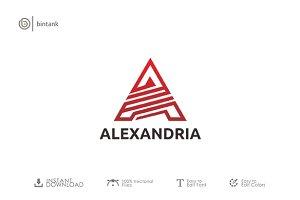 """A"" Letter Logo"