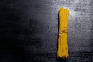Dried pasta spaghetti