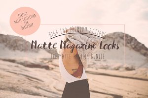 Matte Magazine Action Bundle