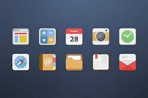 10 Android Icons - Set 1