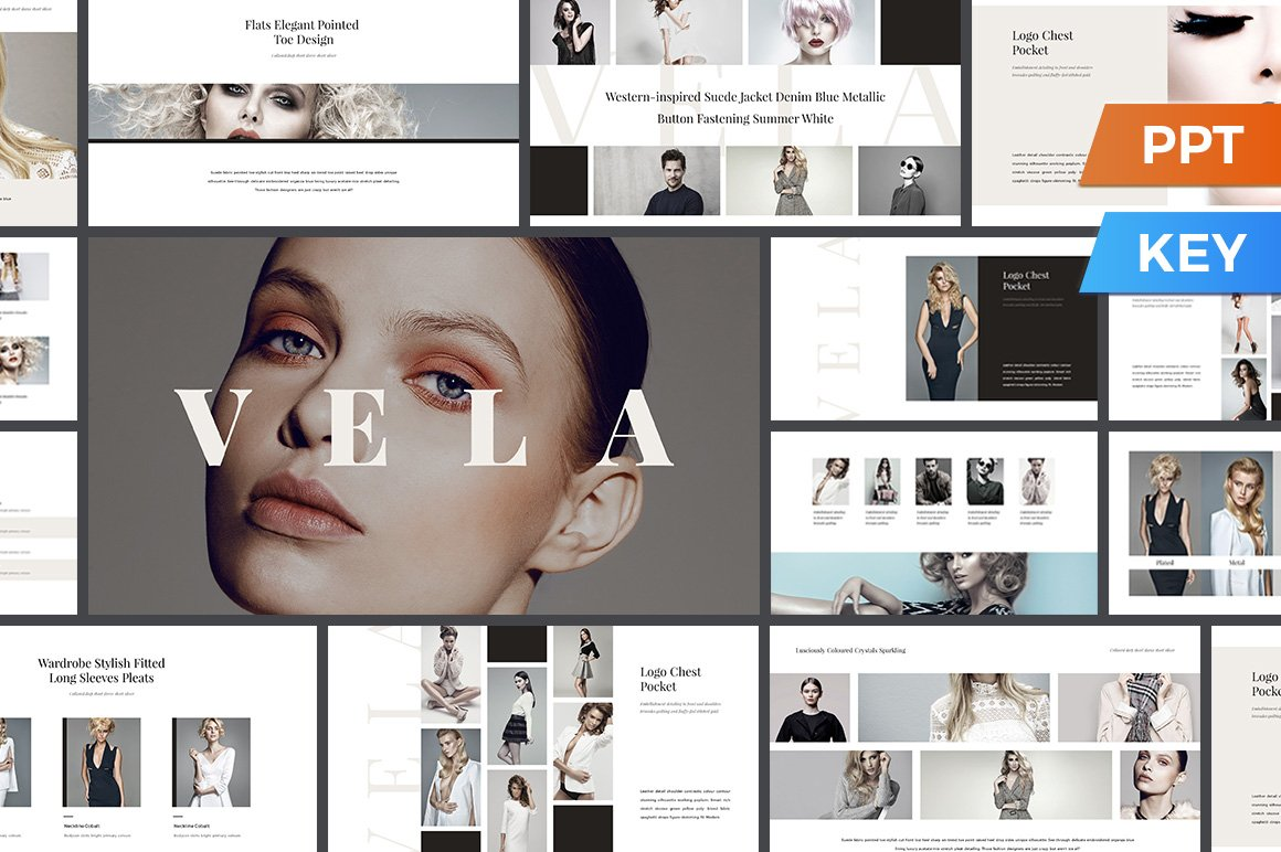 simple powerpoint templates for fashion