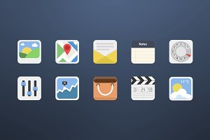 10 Android Icons - Set 2