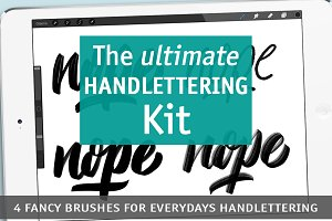 Handlettering Kit for everyday