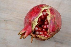 pomegranate beans