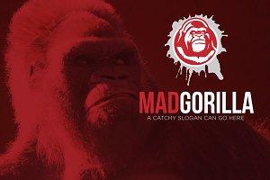 Mad Gorilla Logo