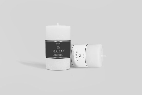 Download Candle Mock-up#4