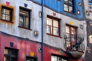 Hundertwasser house