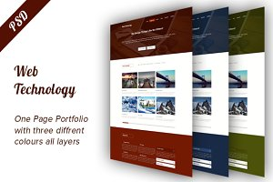 Web Technology Portfolio Theme