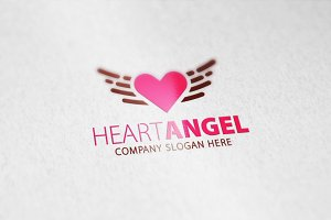 Heart Angel Logo
