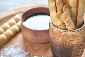 Rosemary breadsticks