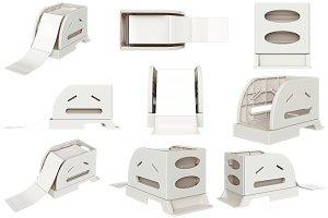 Paper tray set