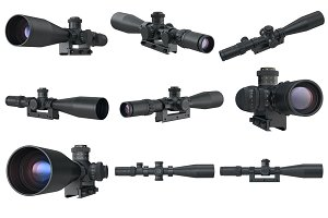 Scope optical set