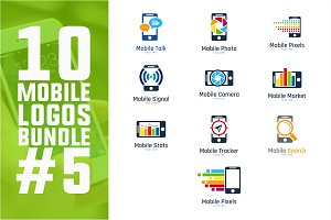 10 Mobile Logo Bundle #5
