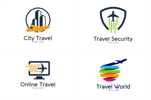 15 Travel Logo Bundle 3 Templates Creative Market