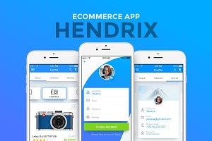 Hendrix - Multipurpose eCommerce App