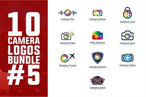 10 Camera Logo Bundle #5