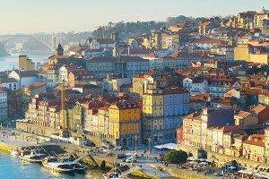 Porto aerial view, Portugal